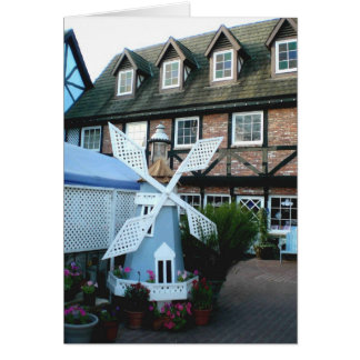 Windmill of Solvang Card