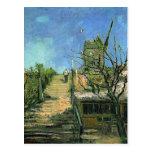 Windmill on Montmartre, Vincent van Gogh Post Card