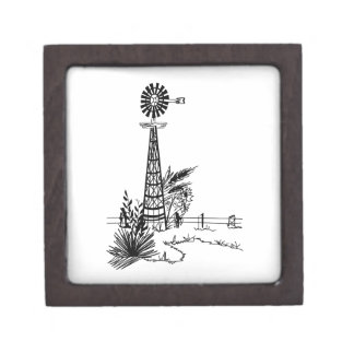 Windmill Outline Gift Box