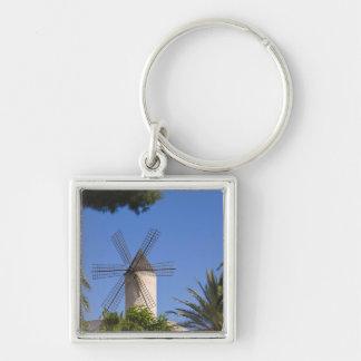 Windmill, Palma, Mallorca, Spain Keychain