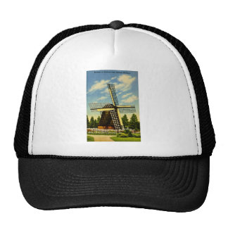 Windmill Park Holland, Michigan Vintage Trucker Hat