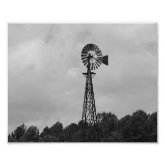 Windmill Photo Print