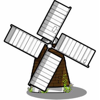 Windmill Photo Sculpture