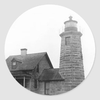 Windmill Point Lighthouse Stickers