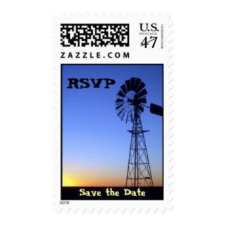 Windmill Postage Stamp