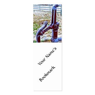 Windmill Pump 1 Business Card Template