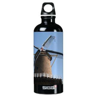 "Windmill ""Rijn en Lek"", Wijk bij Duurstede Aluminum Water Bottle"