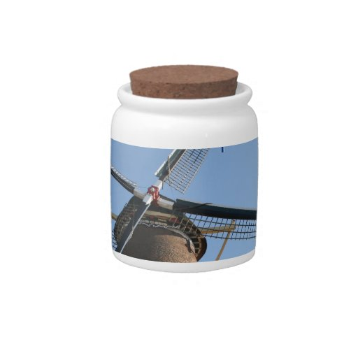 "Windmill ""Rijn en Lek"", Wijk bij Duurstede Candy Dishes"