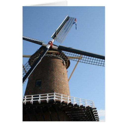 """Windmill """"Rijn en Lek"""", Wijk bij Duurstede Cards"""