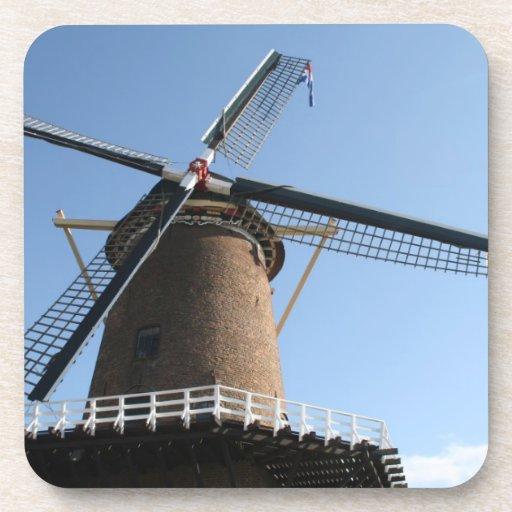 """Windmill """"Rijn en Lek"""", Wijk bij Duurstede Beverage Coaster"""