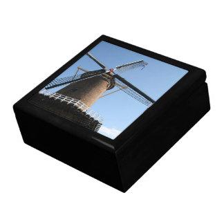 Windmill Rijn en Lek Wijk bij Duurstede Trinket Boxes