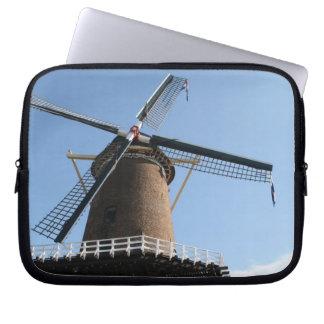 Windmill Rijn en Lek Wijk bij Duurstede Computer Sleeve