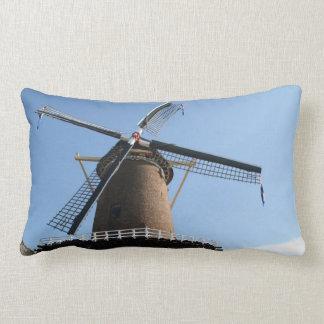 Windmill Rijn en Lek Wijk bij Duurstede Throw Pillow
