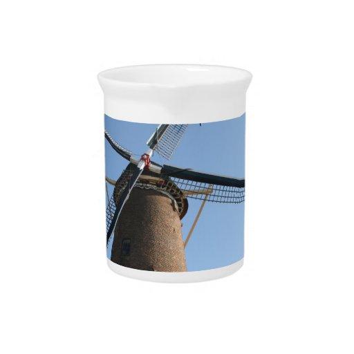 "Windmill ""Rijn en Lek"", Wijk bij Duurstede Pitchers"