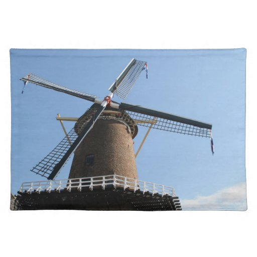 "Windmill ""Rijn en Lek"", Wijk bij Duurstede Place Mats"
