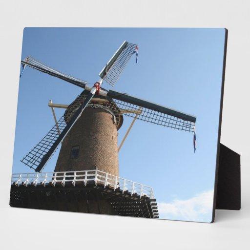 """Windmill """"Rijn en Lek"""", Wijk bij Duurstede Display Plaque"""