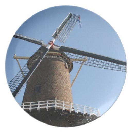 "Windmill ""Rijn en Lek"", Wijk bij Duurstede Plate"