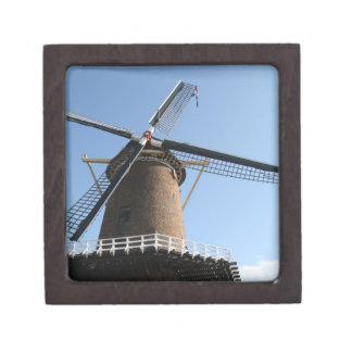 Windmill Rijn en Lek Wijk bij Duurstede Premium Jewelry Box