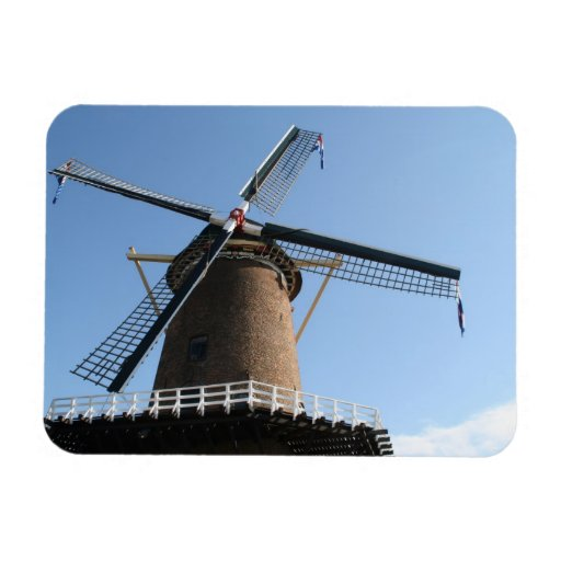 """Windmill """"Rijn en Lek"""", Wijk bij Duurstede Vinyl Magnet"""