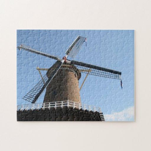 """Windmill """"Rijn en Lek"""", Wijk bij Duurstede Puzzle"""