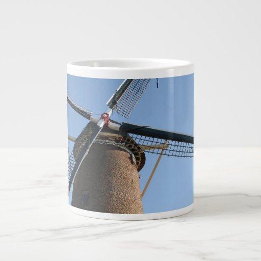 "Windmill ""Rijn en Lek"", Wijk bij Duurstede Extra Large Mugs"