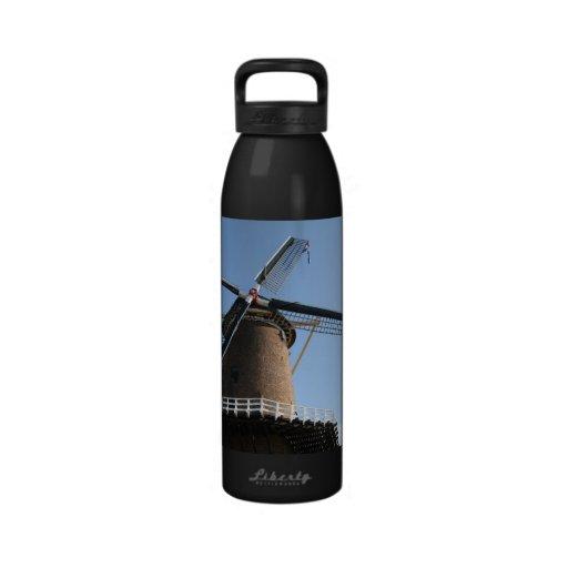 """Windmill """"Rijn en Lek"""", Wijk bij Duurstede Drinking Bottles"""