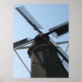 Windmill Rotor Photo Poster Prints