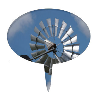 WINDMILL SOUTHERN CROSS RURAL QUEENSLAND AUSTRALIA CAKE TOPPERS