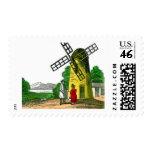 Windmill Stamp