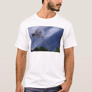 WINDMILL STORM CLOUDS QUEENSLAND AUSTRALIA T-Shirt