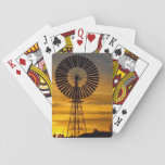 "Windmill sunset playing cards<br><div class=""desc"">The perfect gift for the man in your life</div>"
