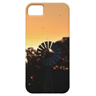 WINDMILL & SUNSET RURAL QUEENSLAND AUSTRALIA iPhone SE/5/5s CASE