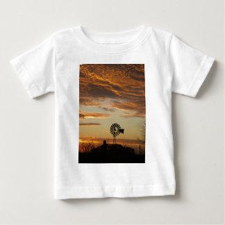 Windmill sunset tshirt