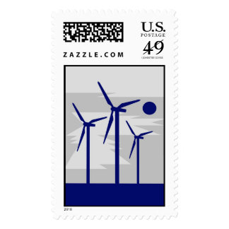 Windmill Surise Grey - Siemens Wind Power Postage