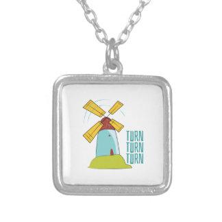 Windmill Turn Turn Turn Custom Necklace