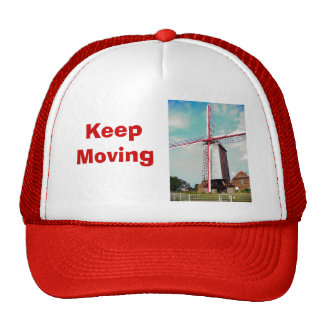 Windmill turning, Keep moving Trucker Hat