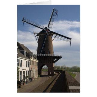 Windmill, Wijk bij Duurstede Card