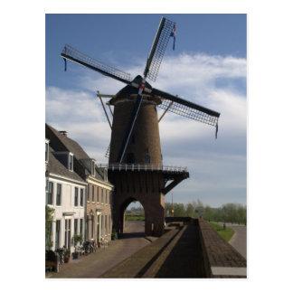 Windmill, Wijk bij Duurstede Postcard