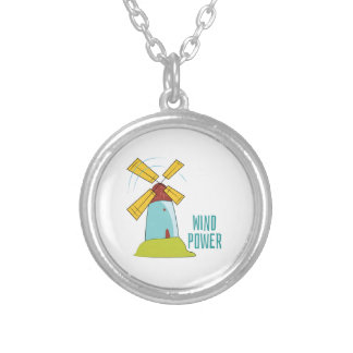 Windmill Wind Power Necklace