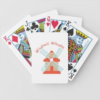 Windmill Wonder Bicycle Playing Cards