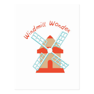 Windmill Wonder Postcard