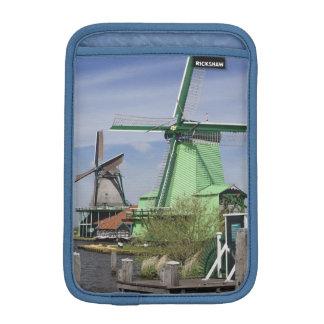 Windmill, Zaanse Schans, Holland, Netherlands 2 iPad Mini Sleeves