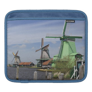 Windmill, Zaanse Schans, Holland, Netherlands 2 iPad Sleeve