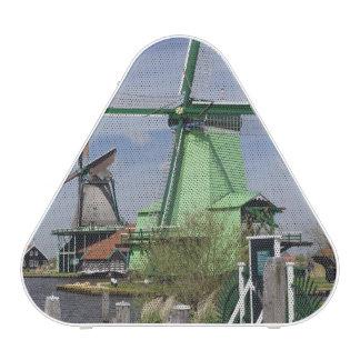 Windmill, Zaanse Schans, Holland, Netherlands 2 Speaker