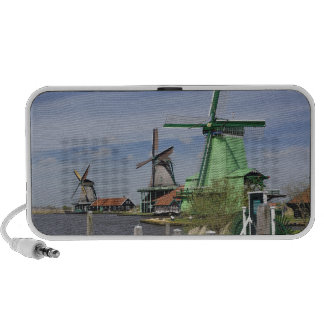 Windmill, Zaanse Schans, Holland, Netherlands 2 iPhone Speakers