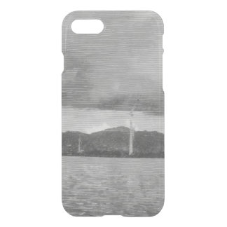 Windmills along the shore iPhone 7 case