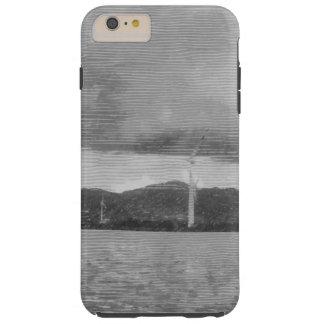 Windmills along the shore tough iPhone 6 plus case