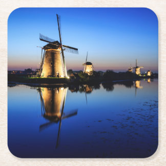 Windmills at Blue Hour coaster