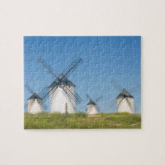 Windmills AT Field of Criptana Puzzle