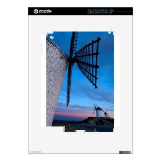 Windmills Decal For iPad 2